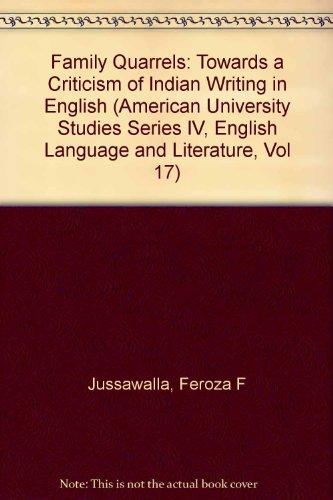 9780820401638: Family Quarrels (American University Studies)