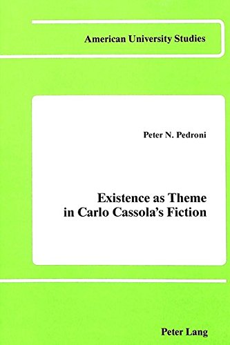 9780820402369: Existence As Theme in Carlo Cassola's Fiction