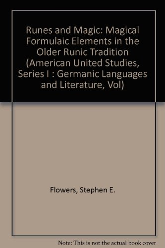 9780820403335: Runes and Magic: Magical Formulaic Elements in the Older Runic Tradition