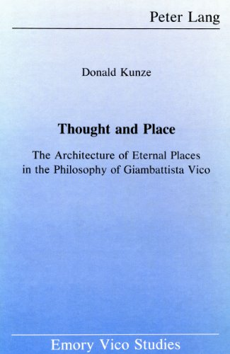9780820404776: Thought and Place (Emory Vico Studies)