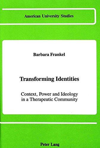 9780820405360: Transforming Identities (American University Studies)