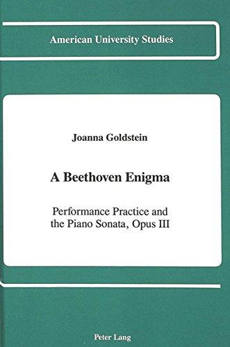 9780820405377: A Beethoven Enigma (American University Studies)