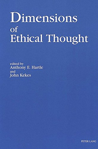 9780820405902: Dimensions of Ethical Thought