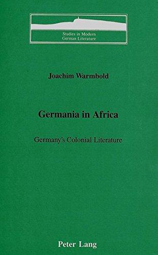 9780820406794: Germania in Africa (Studies in Modern German Literature)