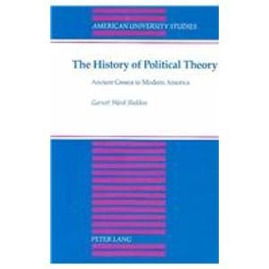 9780820408484: 21: The History of Political Theory (American University Studies)