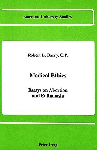 Medical Ethics: Robert L. Barry
