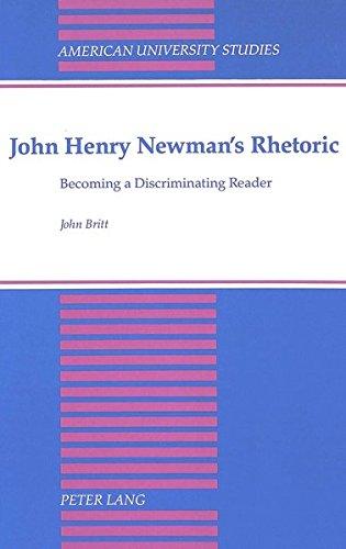 American University Studies Language: John Henry Newmans: John Britt