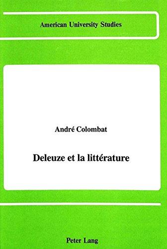 9780820411897: Deleuze et la littérature (American University Studies) (French Edition)