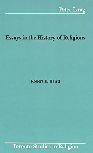 9780820415093: Essays in the History of Religions (Toronto Studies in Religion)