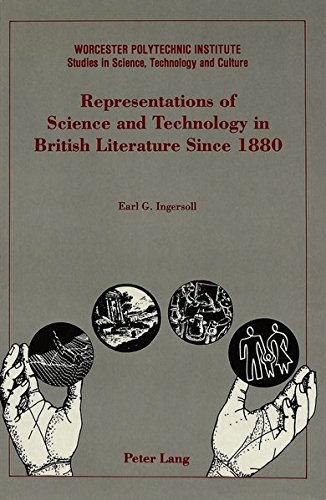 9780820416809: Representations of Science and Technology in British Literature Since 1880 (Worcester Polytechnic Institute (WPI Studies))