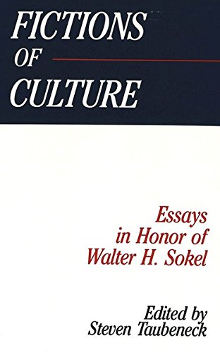 9780820417141: Fictions of Culture: Essays in Honor of Walter H. Sokel