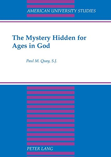 9780820422213: The Mystery Hidden for Ages in God