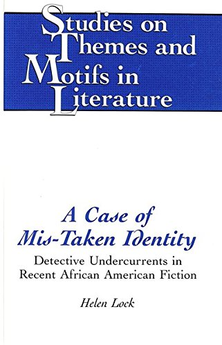 9780820423821: A Case of Mis-Taken Identity: Detective Undercurrents in Recent African American Fiction