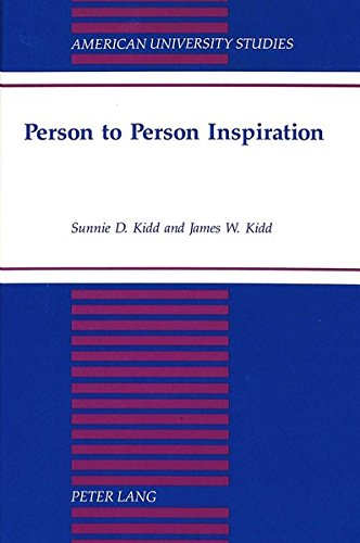 Person to Person Inspiration: KIDD JAMES W.+ SUNNIE D.