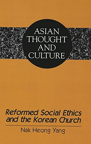 9780820426228: Reformed Social Ethics and the Korean Church