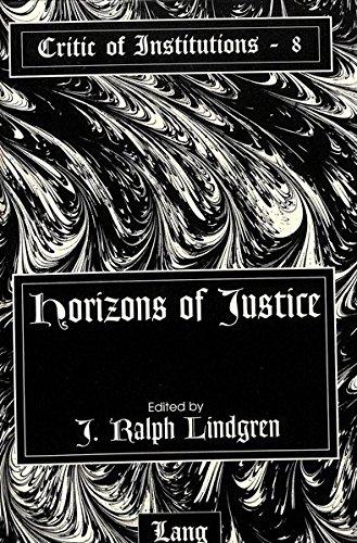 Horizons of Justice (Hardback)