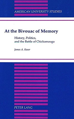9780820428116: At the Bivouac of Memory: History, Politics, and the Battle of Chickamauga (American University Studies)
