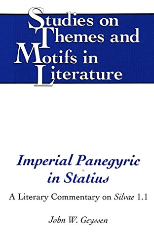 9780820428703: Imperial Panegyric in Statius (Studies on Themes and Motifs in Literature)