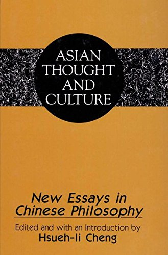 9780820428758: New Essays in Chinese Philosophy (Asian Thought and Culture)