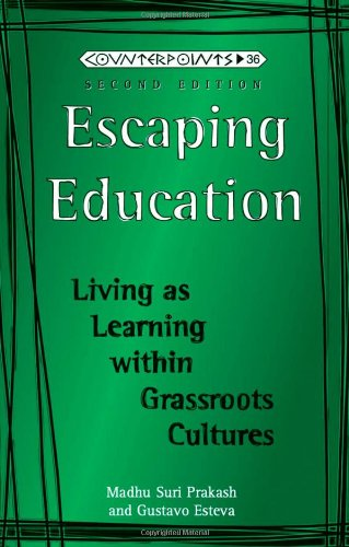 9780820433271: Escaping Education (Counterpoints)