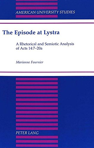 The Episode at Lystra: Fournier, Marianne