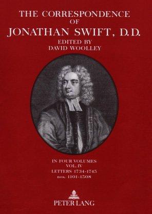 9780820435480: The Correspondence of Jonathan Swift; Volume II