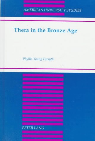 9780820437880: Thera in the Bronze Age