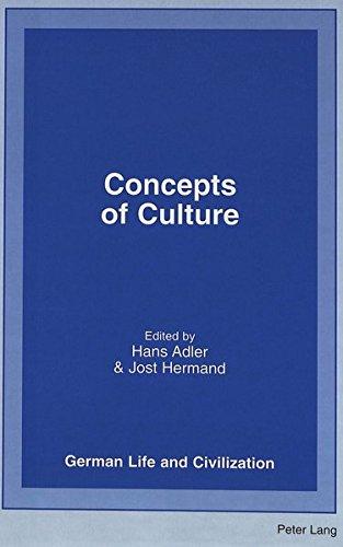 Concepts of Culture: Hans Adler, Jost Hermand