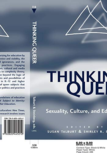 9780820445212: Thinking Queer: Sexuality, Culture, and Education (Counterpoints)