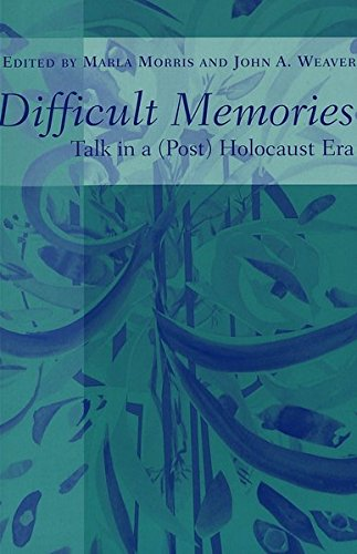 9780820451480: Difficult Memories: Talk in a (post) Holocaust Era (Counterpoints)