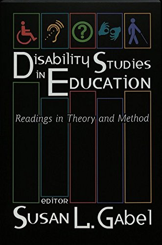 9780820455495: Disability Studies in Education: Readings in Theory and Method
