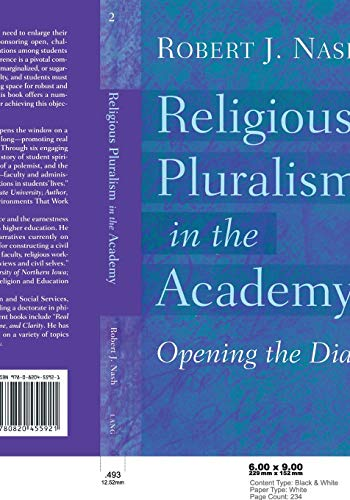 9780820455921: Religious Pluralism in the Academy: Opening the Dialogue