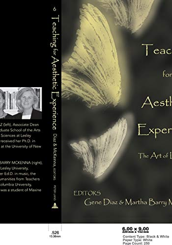 9780820456737: Teaching for Aesthetic Experience: The Art of Learning (Lesley University Series in Arts and Education)