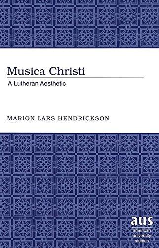 Musica Christi: Marion Lars Hendrickson