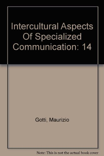 9780820470153: Intercultural Aspects Of Specialized Communication: 14