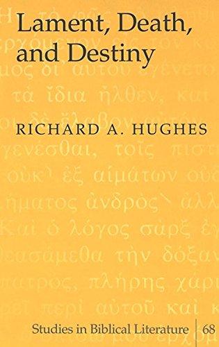 9780820470962: Lament, Death, and Destiny (Studies in Biblical Literature)