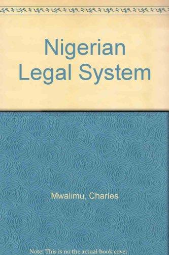 9780820471273: 3: Nigerian Legal System