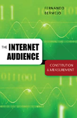 9780820479323: The Internet Audience: Constitution & Measurement (Digital Formations)