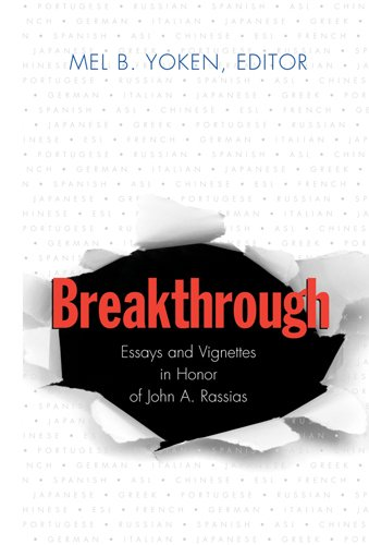 9780820481906: Breakthrough: Essays and Vignettes in Honor of John A. Rassias