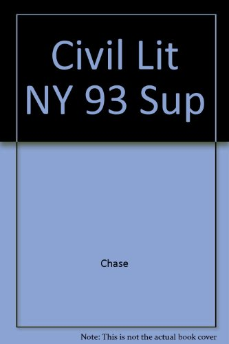 Civil Lit NY 93 Sup: Chase