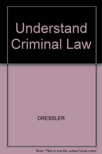 9780820505213: Understand Criminal Law