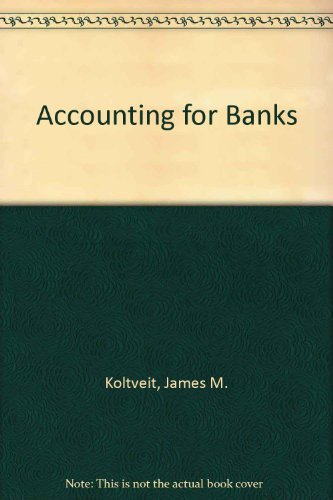 9780820510231: Accounting for Banks