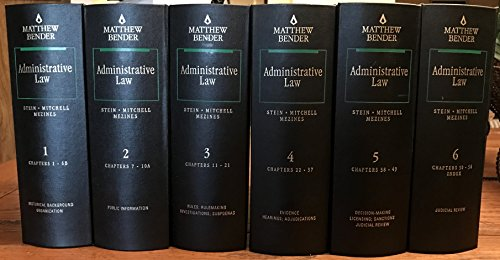 9780820513010: Administrative Law