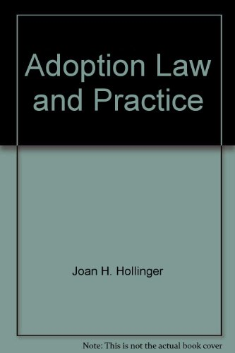 9780820513751: Adoption Law and Practice
