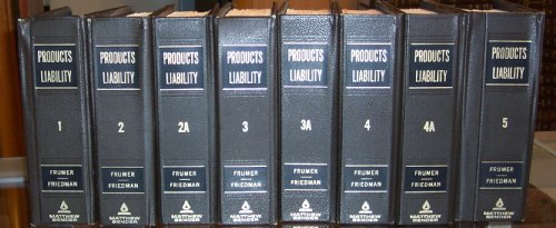 9780820515601: Products Liability