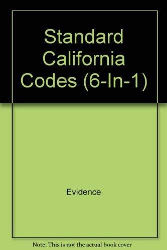 Standard California Codes (6-In-1)