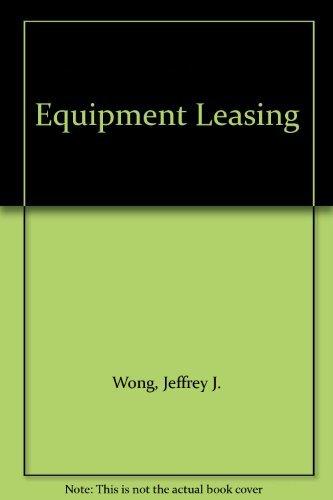 9780820518664: Equipment Leasing