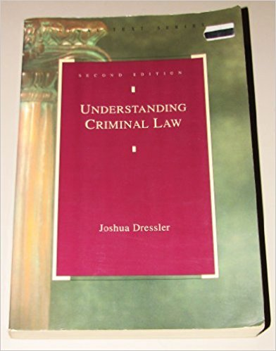 9780820527178: Understanding Criminal Law 2nd Edition.