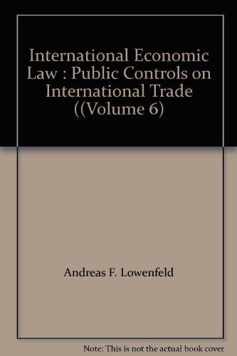 international economic law lowenfeld