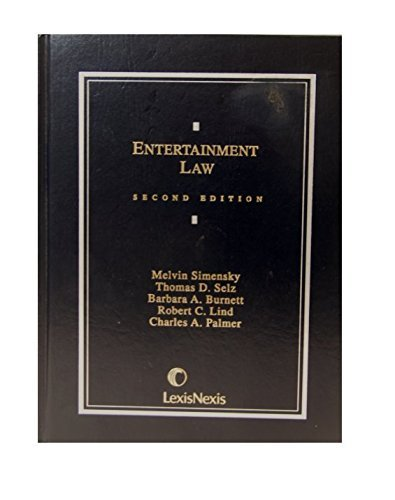 9780820530048: Entertainment Law (Contemporary Casebook Series)